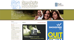 Preview of parents.smokesnojoke.org.uk